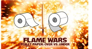 The Great Toilet Paper Debate is Over